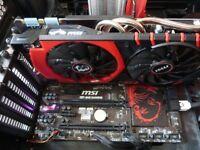 MSI Nvidia GTX 980 Gaming 4G - GPU - Graphics Card - 4k / HDR / VR Ready