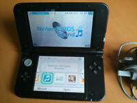 Nintendo 3DS Xl Console - Black (includes charger)