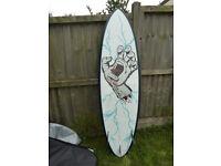 Santa Cruz Pumpkin Seed 6'6 Epoxy surfboard