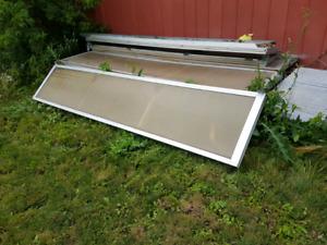 10' wide poly garage door