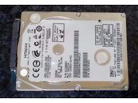"Hitachi 320GB, Internal, 5400 RPM, 6.35 cm (2.5"") - Used"