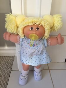 Cabbage Patch Kid with Soother