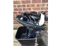 Yamaha 4hp 4stroke outboard engine. Excellent condition. 2 years old and run for 2 hours.