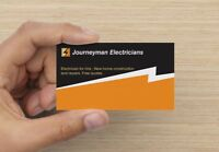 journeyman electricians 20+ yrs experience . New home ,reno's