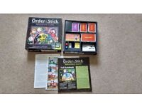 The order of the stick Adventure Board Game (DELUXE Edition) £15 ONO