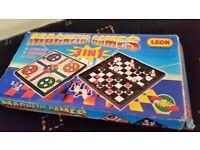 Magnetic games set