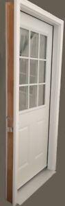 Entry Door with Full Frames (9 Lite Doorlite) – Clearance