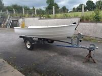 3.2 metre WITH dinghy PRICE REDUCED
