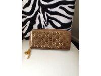 G gold purse new