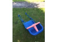 BLUE BABY SWING SEAT