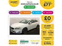 VOLVO V60 2.0 T2 D4 R DESIGN 1.6 D2 SE LUX FROM £77 PER WEEK!