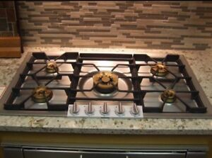 Brand New *Gaganeau propane cooktop and Viking Appliances