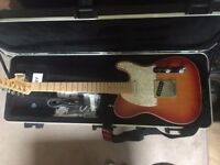 Fender Telecaster American Deluxe Aged Cherry Burst