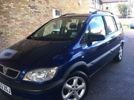 Vauxhall zafira active new mot