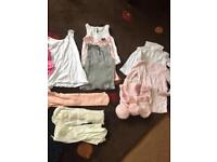 Baby clothes each item only 50p