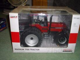 Ertl 1/16 scale Case Ih Magnum 7150 model tractor