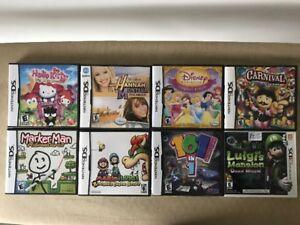 Nintendo DS + 3DS games