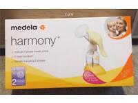 Brand new Medela Harmony Breast Pump, Calma Teet and Phillips Pacifiers set!