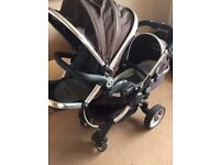 pram pushchair icandy single double