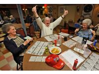 Fun volunteers needed for a bingo group