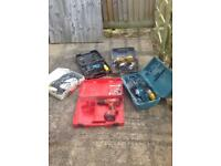 Joblot of power tools shed clearout