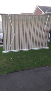 12 ft awning (attaches to home )
