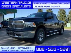 2014 Ram 1500 SLT 4x4 ~ 5.7L Hemi~8 Speed ~ Tow Package $252 B/W
