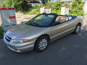 2001 Chrysler Sebring 4 Coupé (2 portes)
