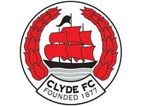 VOLUNTARY: Bar Staff Required at Clyde Football Club.