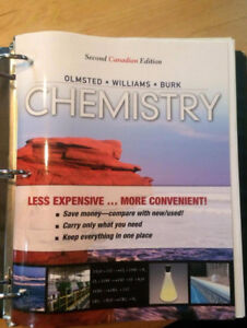 Olmsted Chemistry Textbook 2nd ed. Paperback