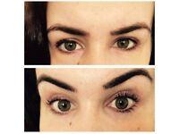 Eye lash tint & lift Swedish massage beauty treatment
