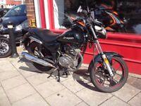 2016 Lexmoto Oragon 125cc good used bike ideal learner before big test