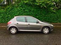 Peugeot 206 GLX, YEARS MOT, 71000 Miles, Cheap Car