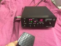 CB Radio 40 Channel FM With PA and Roger Beep - Perfect working order and very good condition