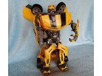 Transformer Ultimate Bumblebee Toy.