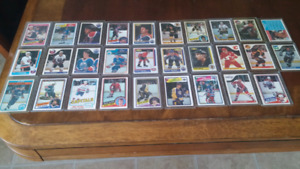 Hockey cards from the 80.s sharp corners