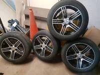 For sale 4 AMG Alloy wheels with tyres
