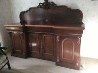 Antique Mahogany Sideboard ( in Belfast )