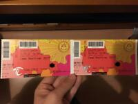 Camp Bestival FULL WEEKEND x2 Adult tickets X1 infant with camping plus