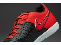 NEW Nike Magistax Pro IC - size 9.5. Red and Black, still in the box