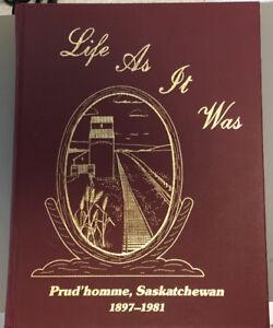 Prud'homme, Saskatchewan 1897 - 1981 History Book