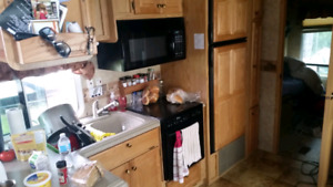 Fifth wheel trailer for rent at Clear Lake
