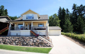 Exceptional Home with Sweeping Lake & City Views - Salmon Arm
