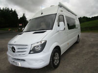 Mercedes LWB Sprinter 4 Berth Auckland Conversion Race Van Reverse Camera Large