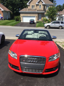 2008 Audi S4 Convertible V8  A MUST SEE (very clean!)
