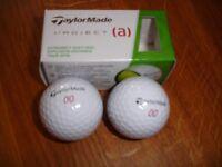 New Talyor Made golf balls x 2