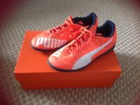Boys/youth puma AstroTurf trainers size 6