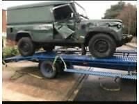 Scrap Cars Vans 4x4 mot failures non runners wanted
