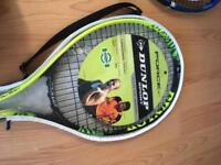 Selection of tennis and badminton rackets - brand new