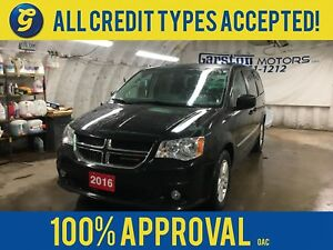 2016 Dodge Grand Caravan Crew Plus*Leather*Dual DVD*Bluetooth*Po